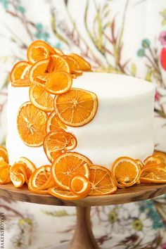Honey Citrus Cake via Bakers Royale
