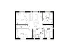 Ett hus med stora ytor i LevelOne-serien - Smart 168