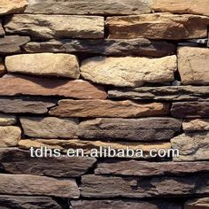 2013 new design decorative faux stone panels/ PU wall panel $10~$15 Faux Stone Panels, Faux Panels, Resin Furniture, Artificial Stone, Cabins And Cottages, Brick Walls, Interior Walls, Basement Ideas, Curb Appeal
