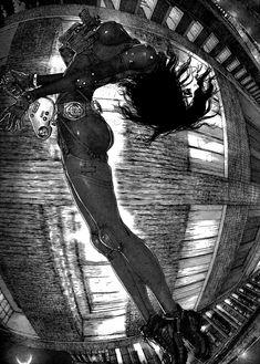 Sun Ken Rock, Comic Frame, Gothic Anime, Manga Artist, Female Anime, Dope Art, Pulp Art, Art Reference Poses, Fantasy Girl