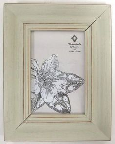Distressed Wood Picture Frame