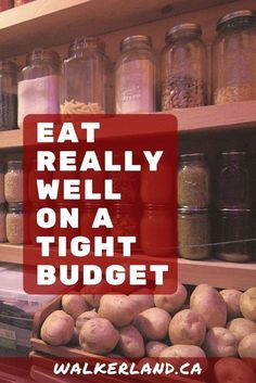 Learn timeless skills for eating really well on a tight budget. Strengthen your food security and pick up some new ideas on how you can save money while providing healthy meals for your family, even when times are tight. Food On A Budget, Cheap Meals On A Budget Families, Paleo On A Budget, Healthy Recipes On A Budget, Cooking On A Budget, Family Budget, Frugal Family, Healthy Food, Living On A Budget