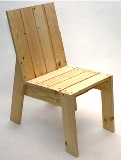 2x4 chair. Gonna make me some.