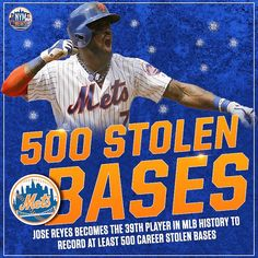 """3,569 Likes, 36 Comments - 🔹New York Mets News🔸 (@nym_news) on Instagram: """"JOSE JOSE JOSE JOSEEEEE! Special congrats to Jose Reyes, who became just the 39th player in MLB…"""""""