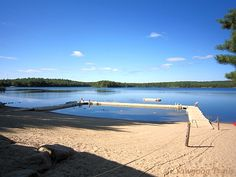 Camp Medicine Bow Waterfront on #Yawgoog Pond on August 24, 2014.  Image by David R. Brierley.