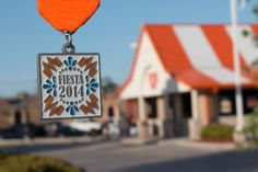 What-a-medal! The 2014 Fiesta medal from Whataburger.
