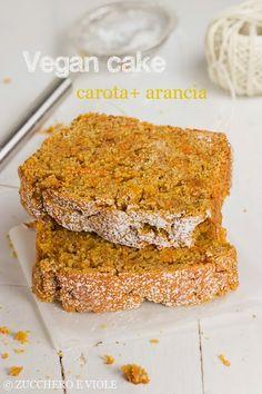 zucchero e viole vegetarian-vegan blog: Cake vegano alla carota e arancia