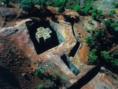Lalibela - the home of 900 years old, rock-hewn churches, and one of Ethiopia's holiest cities. ~