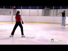 Ice Hockey - Skate Inside Three Cross - YouTube