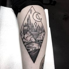 Minimalist harry potter tattoos that are pure magic 18