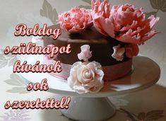 BOLDOG SZÜLETÉSNAPOT! Wedding Anniversary Wishes, Happy Birthday, Birthday Cake, Desserts, Christmas, Food, Google, Harry Potter, Quotes
