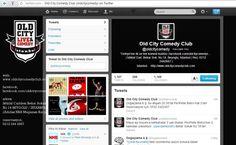 Old City Comedy Club'ın 2012-2013 Sezonu Twitter hesabı