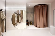 View full picture gallery of Boutique Retail Interior Design, Retail Store Design, Boutique Design, Modegeschäft Design, Chair Design, Modern Design, Bridal Boutique Interior, Vitrine Design, Clothing Store Interior