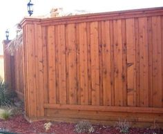 Board on Board Wood Fence Modern Fence Company Fort Smith Fence Eastern Oklahoma Fencing Cedar Wood Fence, Cedar Stain, Cedar Boards, Fence Prices, Fence Builders, Wood Fence Design, Privacy Fences, Fencing, Backyard Projects