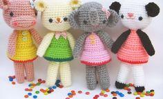A free tutorial site for amigurumi beginners- Jennyandteddy — amigurumi how to, beginner tutorial, free crochet patterns