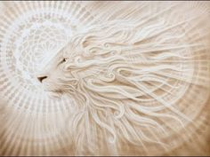 Leo Rising, lion painting by Artist-Andrew Gonzalez creates amazing transfiguration, esoteric and visionary work. All work is pinned directly from the artist website. Leo Constellation Tattoo, Leo Rising, Rising Sun, Lion Painting, Le Roi Lion, Lion Art, Visionary Art, Animal Paintings, Cat Art
