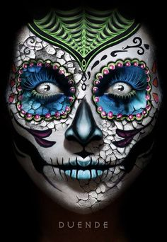 Day of the Dead | by Duende rfs  http://instagram.com/duende_rfs POST YOUR FREE LISTING TODAY!   Hair News Network.  All Hair. All The Time.  http://www.HairNewsNetwork.com/