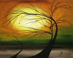 size: Art Print: Mother And Child by Megan Aroon Duncanson : Artists Circle Art, Beach Landscape, Mother And Child, Tree Art, Beautiful Paintings, Art Pictures, Framed Artwork, Framed Wall, Amazing Art