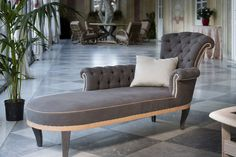 Classic daybed / in wood / indoor BERTONE Mantellassi 1926