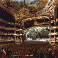 The Salle Le Peletier (sometimes referred to as the Salle de la rue Le Peletier or the Opéra Le Peletier) was the home of the Paris Opera from 1821 until the building was destroyed by fire in 1873