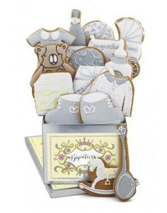 Royal Baby Biscuit Tin  Royal Baby Shower Party   Visit www.fireblossomcandle.com for more party ideas