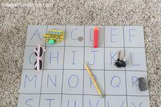 Four Simple Alphabet Games for Preschoolers