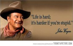 Wise, wise words John....  Don't make your life harder by doing the same stupid stuff over and over again.