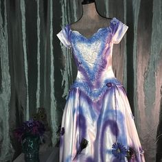 Day of the Dead corpse bride Costume dress womens size 6