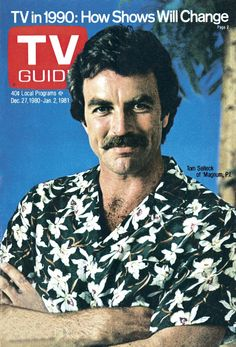 TV Guide, December 27, 1980. — Tom Selleck | Magnum P.I.. Can never have too many pictures of Tom Selleck!