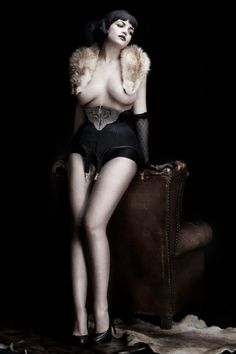 the-nylon-swish: riwaanerona: hourglass-silhouette: Model: Tessa KuragiCorset: BlackittenPhoto: Martial Lenoir Love it! Wow, this corset is amazing! Pin Up Photos, Show Beauty, Figure Photo, Luxury Lingerie, Vintage Lingerie, Black And White Pictures, Dark Beauty, Vintage Beauty, Mannequin