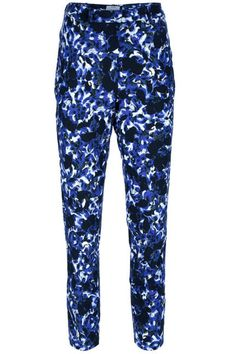 Floral Trousers... a bit loud for my taste, but could be fun with the right pieces.