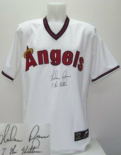 Nolan Ryan Signed California Angels Jersey 7 No Hitters PSA DNA .  399.00.  Featured 65835c8ca