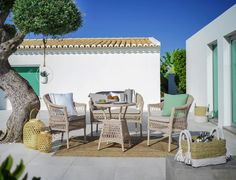Gartentisch in Grau online bestellen Outdoor Furniture Sets, Outdoor Decor, Pergola, Outdoor Structures, Patio, Home Decor, Natural Colors, Backyard Patio, Outdoor