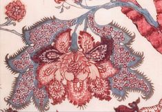 Export Chintz inspired recreation by textile expert Renuka Reddy