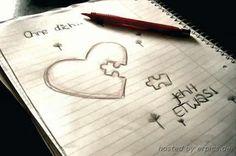 Eigentlich bin ich ohne dich nur das kleine Stück.. Ohne dich fehlt so ziemlich alles.. ❤️