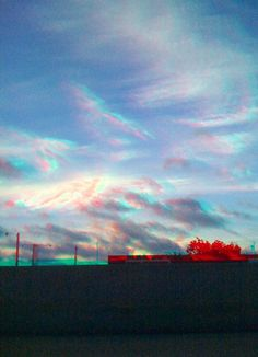 3D Clouds 1 color anaglyph by BigCountryWx, via Flickr