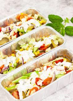 Fresh Rolls, Cobb Salad, Grilling, Food And Drink, Ethnic Recipes, Impreza, Diet, Essen, Poster