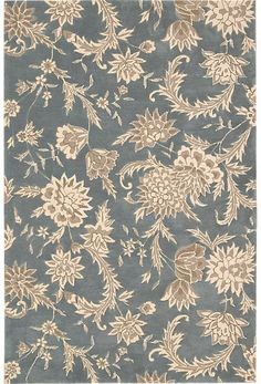 Rooms To Go Vintage Blossoms 5 x 7'6 Rug on shopstyle.com