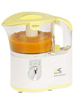 Kalorik ChopperBaby Food Maker WhiteYellow 2Cup