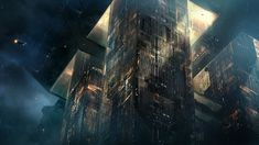 Blade Runner 2049 art by George Hull. Keywords: spinner flying automobile vehicle digital concept illustration design for the mov. 1920x1200 Wallpaper, Wallpaper Backgrounds, Wallpapers, Wallpaper Desktop, Pretty Movie, Futuristic City, Futuristic Architecture, Blade Runner 2049, Concept Ships