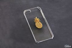iPhone 5 Clear Case, Transparent iPhone 5 Case, iPhone 5c Pineapple, Fruit iPhone Case, Fruit Pattern, Galaxy S3 Galaxy S4, Samsung, Hipster...
