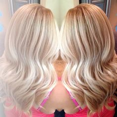blonde on blonde balayage