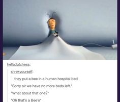 "Bee Movie is about a bee voiced by Jerry Seinfeld who sues the human race for stealing their honey or something and also a human woman basically falls in love with him and it's the fucking weirdest thing because they're BEES. | You Need To See What YouTube Is Doing To ""Bee Movie"" Right Fucking Now"