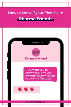 """A quote about having a Dharma friend—""""To my Dharma friend: I just want you to know that I give you my explicit permission to give me feedback"""". Want You, Give It To Me, True Friends, Spiritual Quotes, Friendship Quotes, How To Know, You And I, Knowing You, Verses"""