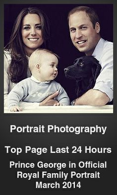 Top Portrait Photography link on telezkope.com. With a score of 1584. --- Prince George in Official Royal Family Portrait March 2014. --- #topportraitphotographylinks --- Brought to you by telezkope.com - socially ranked goodness
