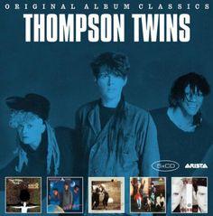 Thompson Twins Original Album Classics for sale online 80s Music, Dance Music, Taylor Dayne, Thompson Twins, Future Days, John Denver, Cyndi Lauper, The New Wave, Billy Joel