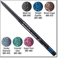 Glimmersticks Diamonds Eye Liner .01 oz. net wt. - Twilight Sparkle - Avon