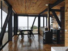CASA VICTOR A Frame House, Steel Structure, Divider, House Design, Building, Room, Furniture, Camping, Homes