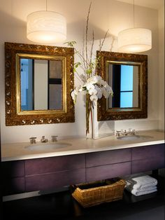 awesome drum chandelier for the modern house exclusive modern bathroom with long floating vanity with double sinks and mirrors completed with a pair of bathroom magnificent contemporary bathroom vanity lighting
