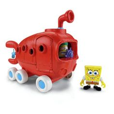 Imaginext SpongeBob SquarePants Bikini Bottom Bus - Fisher-Price Online Toy Store - $17.00